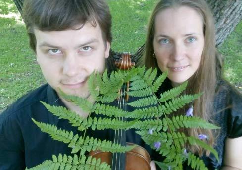 Grüße aus der Sommerfrische! - Monta Wermann und Rihards Plešanovs, Foto © Jochen Wermann
