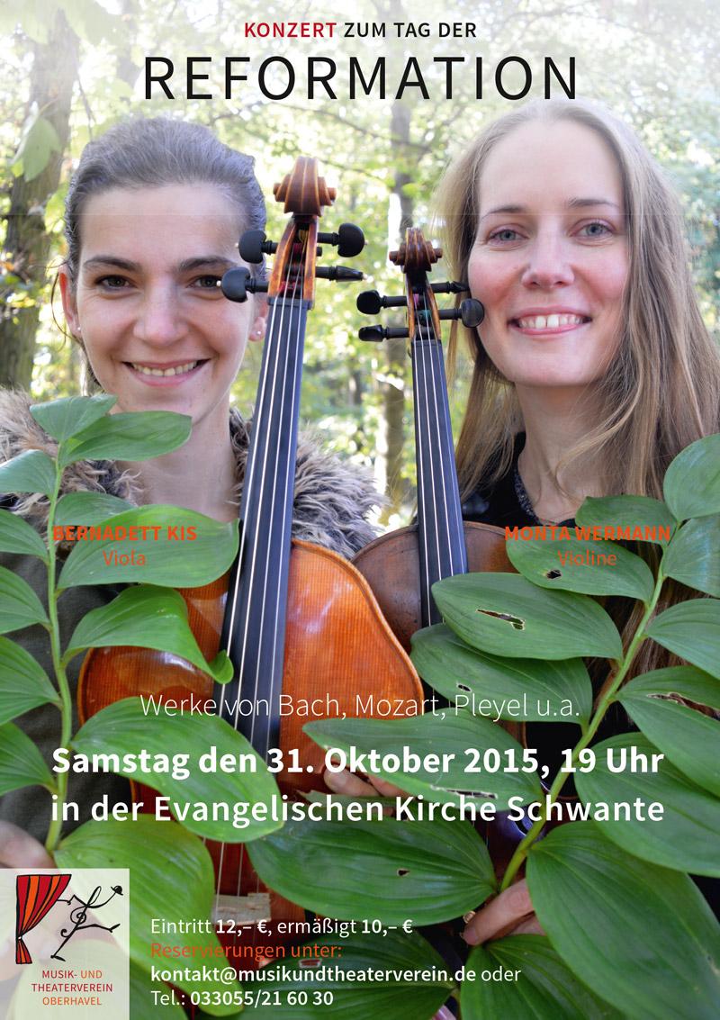 Monta Wermann und Bernadett Kis - Foto © Jochen Wermann