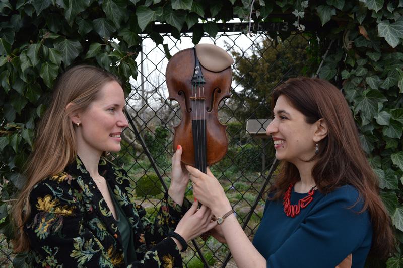 Monta Wermann und Karine Gilanyan - Foto © Jochen Wermann