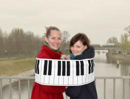 Monta Wermann und Nadezda Pisareva - Foto © Jochen Wermann